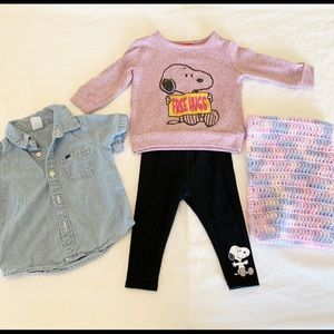 Baby girl outfit 6/9 months